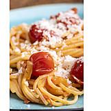Spaghetti, Parmesan, Lunch