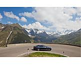 Car, Timmelsjoch, Pass Road