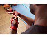 Hand, Boxer, Bandage