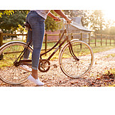 Bicycle, Rural Scene, Cycling