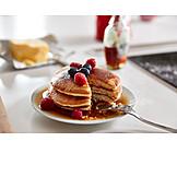 Dessert, Breakfast, Pancakes, Pancakes