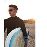 Strand, Surfer