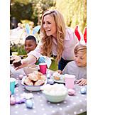 Mutter, Osterfest, Muffin, Kindheit