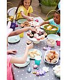 Easter, Easter Celebration, Friends, Dining Table