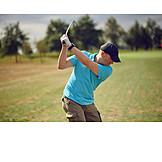 Golf, Ball Sports, Tee Box