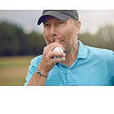Man, Golf, Consider