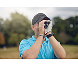 Golf, Measuring, Distance, Rangefinder