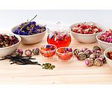 Tea, Herbal Tea, Flowers