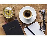 Religion, Lesen, Notizen, Bibel
