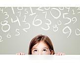 Nachdenklich, Rechnen, Mathematik