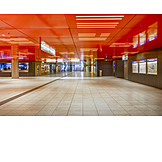 Human Deserted, Munich, Subway Station