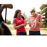 Golf, Friends, Scoreboard, Recording