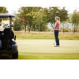 Golf Course, Golfing, Golf