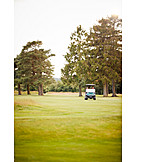 Golf, Golf Course, Golf Cart