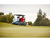 Golf, Golf Course, Golfer, Golf Cart