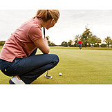 Precision, Concentration, Golf Ball, Golf
