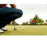 Precision, Golf Course, Golf Ball, Golfing