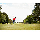 Golf, Golf Course, Teeing Off