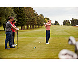 Golf, Learning, Teeing Off