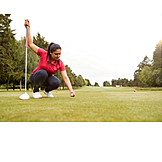 Golf, Turntable, Golf Ball