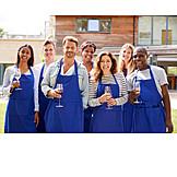 Wein, Kochschule, Gruppenbild, Kochgruppe