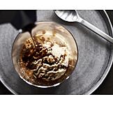 Dessert, Süßspeise, Affogato Al Caffè