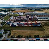 Logistics, Warehouse, Cargo Container
