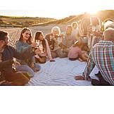 Picknick, Prost, Familienurlaub, Familientreffen