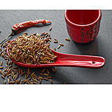 Asian Cuisine, Red Rice