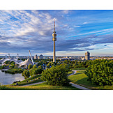 Munich, Olympiapark, Olympic Tower