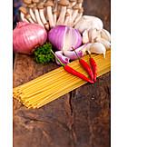 Spaghetti, Ingredients, Vegan
