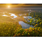 Lake, Forest, Industry