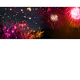 New Years Eve, Firework Display, New Year Happy Holiday