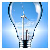 Windenergie, Alternative Energie, Regenerative Energie
