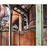 Industry, Steel Girder, Corrosion