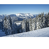 Winter Landscape, Berchtesgaden Alps