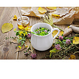 Health, Autumn, Herbal Tea