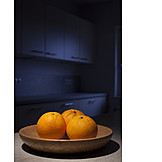 Fruits, Oranges, Fruit Bowl