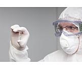 Research, Protective Workwear, Scientist, Pandemic, Vaccine, Corona Virus