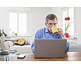 Laptop, Online, Homeoffice