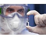 Labor, Impfstoff, Ampulle