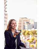 Business Woman, Mobile, Telephone Conversation