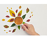 Autumn, Coffee, Hot Drink