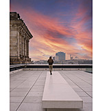 Sunset, The Reichstag, Rooftop