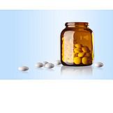 Medizin, Tablette, Pille