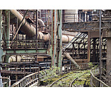 Industry, Tracks, Factory Building