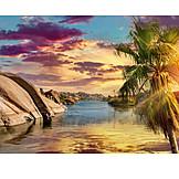 Sunset, Nile River, Nile