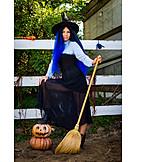 Cladding, Witch, Halloween