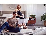 Couple, Pregnancy, Build, Crib