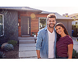 Couple, Happy, Real Estate, New Home